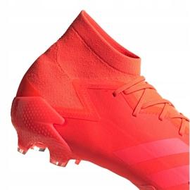 Buty piłkarskie adidas Predator 20.1 Fg M FV3544 czerwone wielokolorowe 2