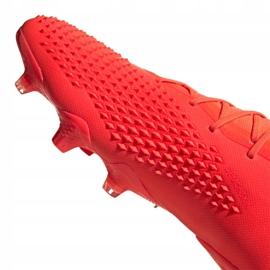 Buty piłkarskie adidas Predator 20.1 Fg M FV3544 czerwone wielokolorowe 3