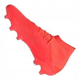 Buty piłkarskie adidas Predator 20.1 Fg M FV3544 czerwone wielokolorowe 5