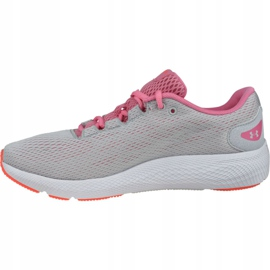 Buty Under Armour W Charged Pursuit 2 W 3022604-102 szare 1