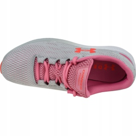 Buty Under Armour W Charged Pursuit 2 W 3022604-102 szare 2