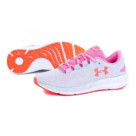 Buty Under Armour W Charged Pursuit 2 W 3022604-102 szare 4