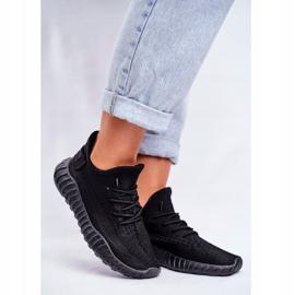 Damskie Sportowe Buty Lekkie Przewiewne Czarne Lumiere 1