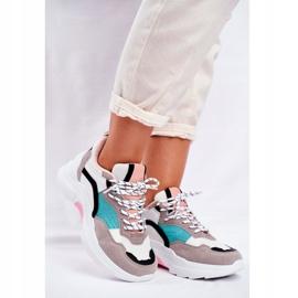 PS1 Sportowe Damskie Buty Sneakersy Biało Zielone Mindanao białe czarne różowe szare 1