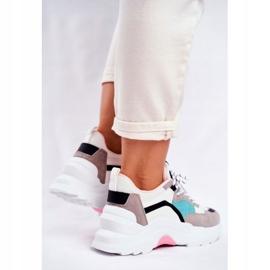PS1 Sportowe Damskie Buty Sneakersy Biało Zielone Mindanao białe czarne różowe szare 6