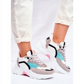 PS1 Sportowe Damskie Buty Sneakersy Biało Zielone Mindanao białe czarne różowe szare 2