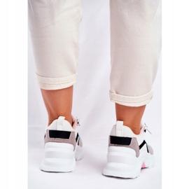 PS1 Sportowe Damskie Buty Sneakersy Biało Zielone Mindanao białe czarne różowe szare 5