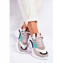 PS1 Sportowe Damskie Buty Sneakersy Biało Zielone Mindanao białe czarne różowe szare 3