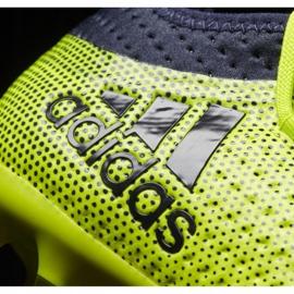 Buty piłkarskie adidas X 17.1 Jr S82297 wielokolorowe zielone 3