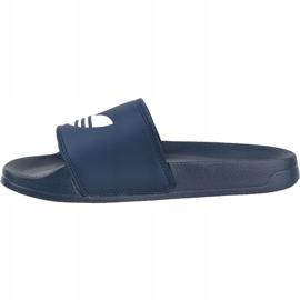 Klapki adidas Adilette Lite Slides J FU9178 czarne granatowe 1