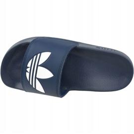 Klapki adidas Adilette Lite Slides J FU9178 czarne granatowe 2