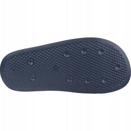 Klapki adidas Adilette Lite Slides J FU9178 czarne granatowe 3