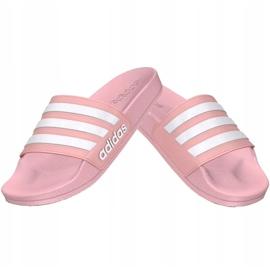 Klapki adidas Adilette Shower Jr G27628 różowe 2