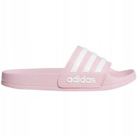 Klapki adidas Adilette Shower Jr G27628 różowe 3