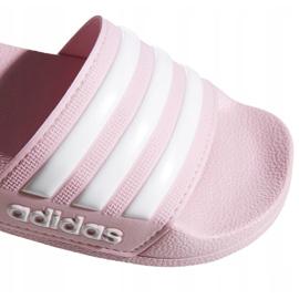Klapki adidas Adilette Shower Jr G27628 różowe 5