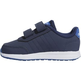 Buty adidas Vs Switch 2 Cmf Inf Jr EG5141 granatowe 2