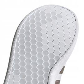 Buty adidas Grand Court Jr EF0101 białe czarne 5