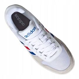 Buty koszykarskie adidas Hoops 2.0 M FW8250 białe białe 6