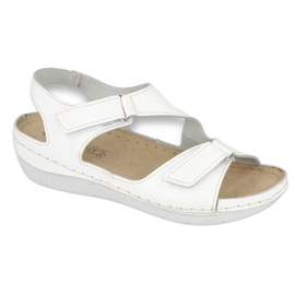 Inblu obuwie damskie sandały 158D113 białe 1