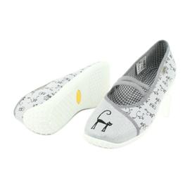 Befado obuwie młodzieżowe 345Q163 szare 5