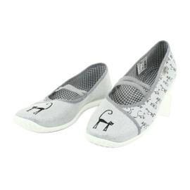Befado obuwie młodzieżowe 345Q163 szare 4