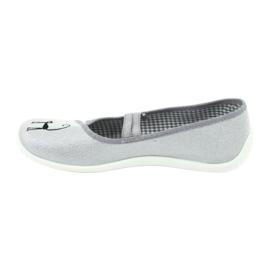 Befado obuwie młodzieżowe 345Q163 szare 3