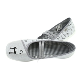 Befado obuwie młodzieżowe 345Q163 szare 6