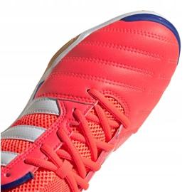 Buty piłkarskie adidas Top Sala M FX6761 wielokolorowe pomarańczowe 1