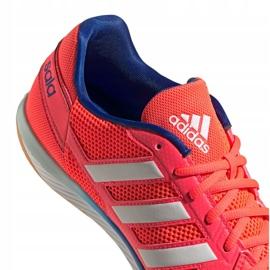 Buty piłkarskie adidas Top Sala M FX6761 wielokolorowe pomarańczowe 2