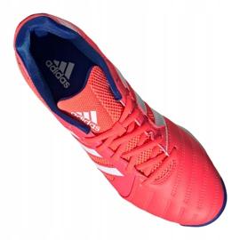 Buty piłkarskie adidas Top Sala M FX6761 wielokolorowe pomarańczowe 3