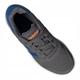 Buty adidas Hoops 2.0 Jr FW3173 szare 2