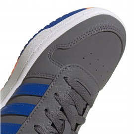 Buty adidas Hoops 2.0 Jr FW3173 szare 3