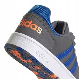 Buty adidas Hoops 2.0 Jr FW3173 szare 4