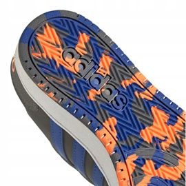 Buty adidas Hoops 2.0 Jr FW3173 szare 5