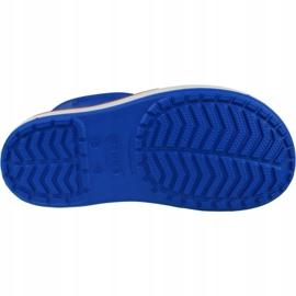 Kalosze Crocs Crocband Rain Boot Kids 205827-4KD niebieskie 3