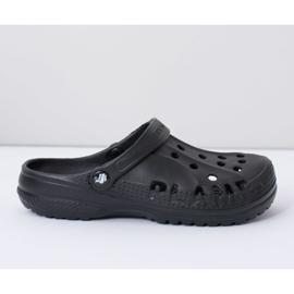 Flameshoes Damskie Klapki Czarne Lekkie Kroksy Eva 4