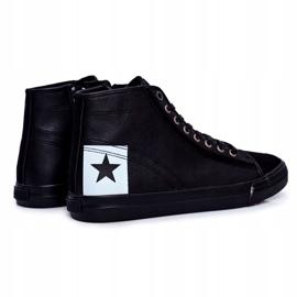 Trampki Męskie Big Star Czarne EE174066 5