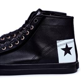 Trampki Męskie Big Star Czarne EE174066 2
