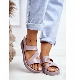 Damskie Sandały Pachnące Gumowe ZAXY Beżowe DD285066 beżowy 1