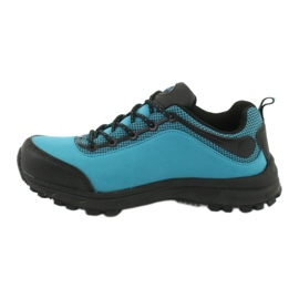 Buty sportowe softshell wodoodporne American Club HL05 czarne niebieskie 1