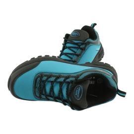 Buty sportowe softshell wodoodporne American Club HL05 czarne niebieskie 4