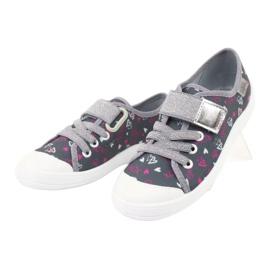 Befado obuwie dziecięce 251X138 różowe szare wielokolorowe 4