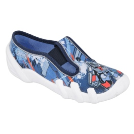 Befado obuwie dziecięce 290X204 granatowe niebieskie wielokolorowe 1