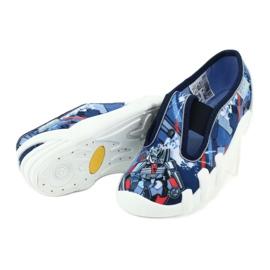 Befado obuwie dziecięce 290X204 granatowe niebieskie wielokolorowe 4