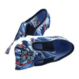 Befado obuwie dziecięce 290X204 granatowe niebieskie wielokolorowe 5