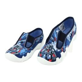 Befado obuwie dziecięce 290X204 granatowe niebieskie wielokolorowe 3