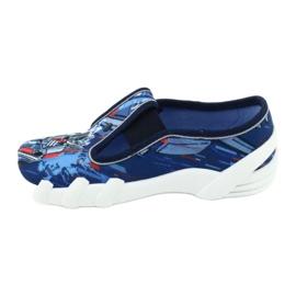 Befado obuwie dziecięce 290X204 granatowe niebieskie wielokolorowe 2