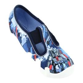 Befado obuwie dziecięce 290X204 granatowe niebieskie wielokolorowe 6