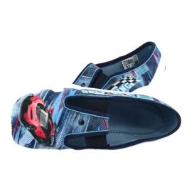 Befado obuwie dziecięce 290Y208 niebieskie wielokolorowe 5