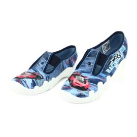 Befado obuwie dziecięce 290Y208 niebieskie wielokolorowe 3